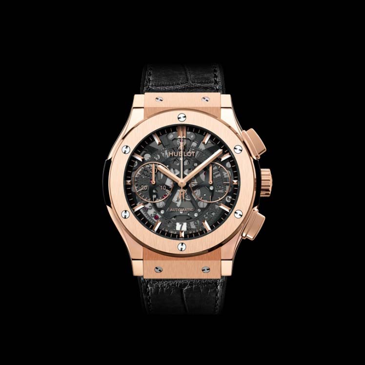 Classic Fusion Aero Chronograph King Gold 45mm 525.OX.0180.LR