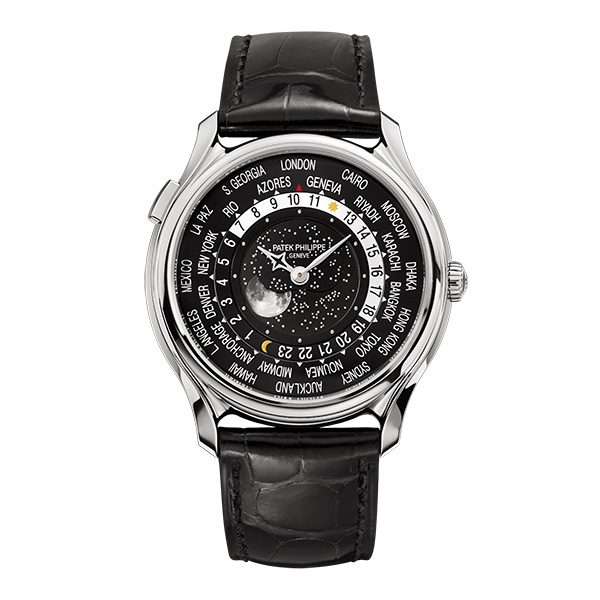 175th Anniversary Collection Men's World Time Moon 5575G-001