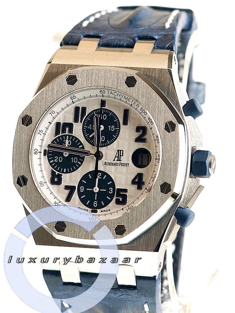 Audemars piguet royal oak offshore navy chronograph 26170st oo d305cr 01 ebay for Royal oak offshore navy