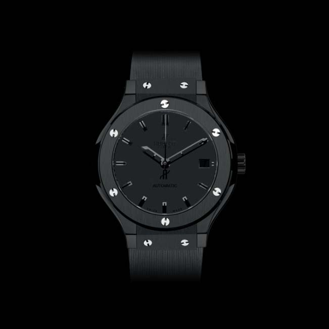 Classic Fusion All Black 38mm 565.CM.1110.RX