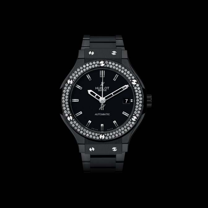 Classic Fusion Black Magic Diamonds 38mm 565.CM.1170.CM.1104