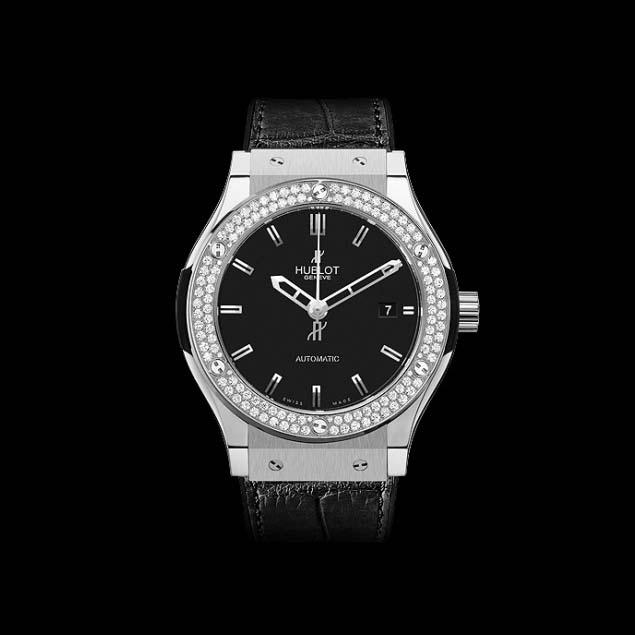 Classic Fusion Titanium Diamonds 38mm565.NX.1170.LR.1104