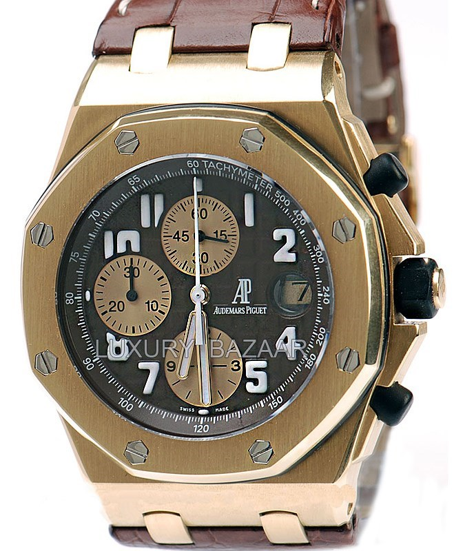 Royal Oak Offshore Arnold Schwarzenegger 26007BA.OO.D088CR.01