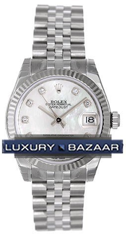 Oyster Perpetual Datejust 31mm Fluted Bezel 178274 mdj