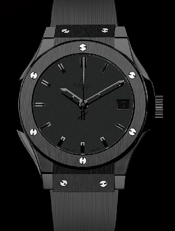 Classic Fusion All Black 581.CM.1110.RX