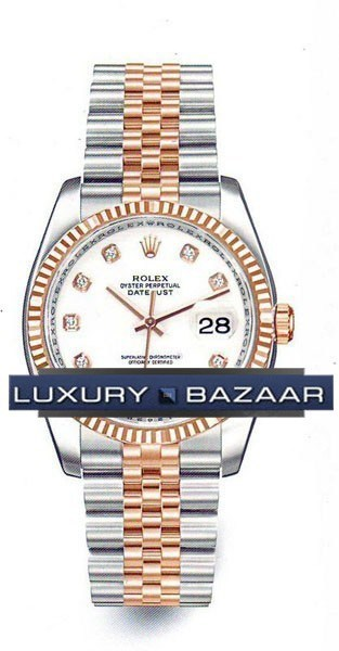 Oyster Perpetual Datejust 36mm Fluted Bezel 116231 wdj