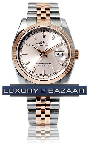 Oyster Perpetual Datejust 36mm Fluted Bezel 116231 chsj