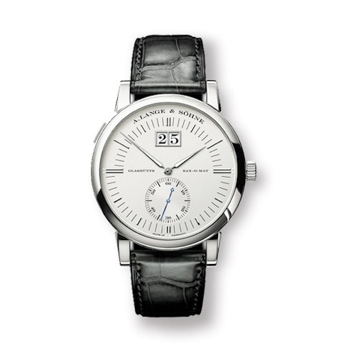 Grand Langematik (Platinum / Silver / Leather)