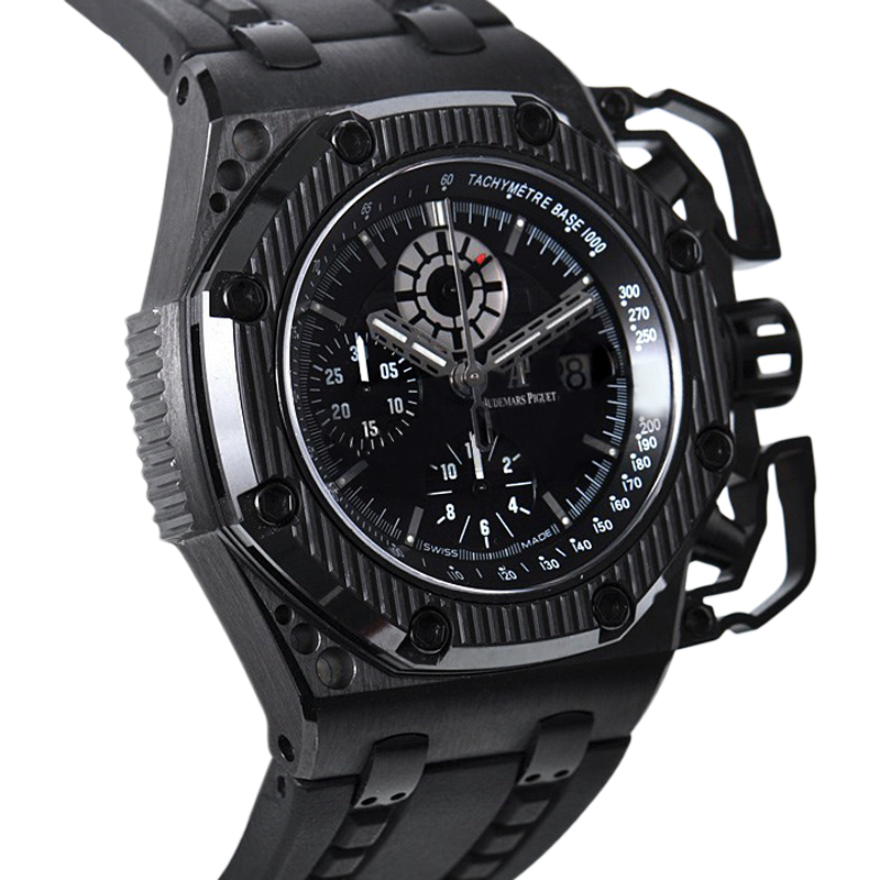 Audemars piguet royal oak offshore survivor 26165io oo luxury bazaar www for Royal oak offshore survivor