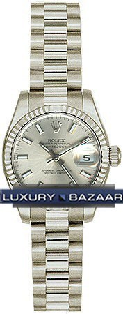 Datejust Lady Gold 26mm Fluted President 179179 ssp
