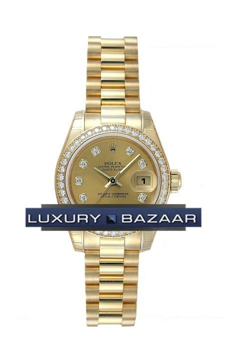 Datejust Lady Gold 26mm 179138 chdp