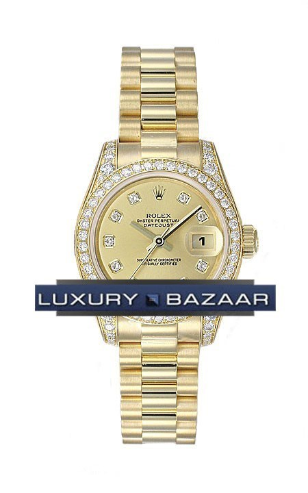 Datejust Lady Gold President 26mm 179158 chdp