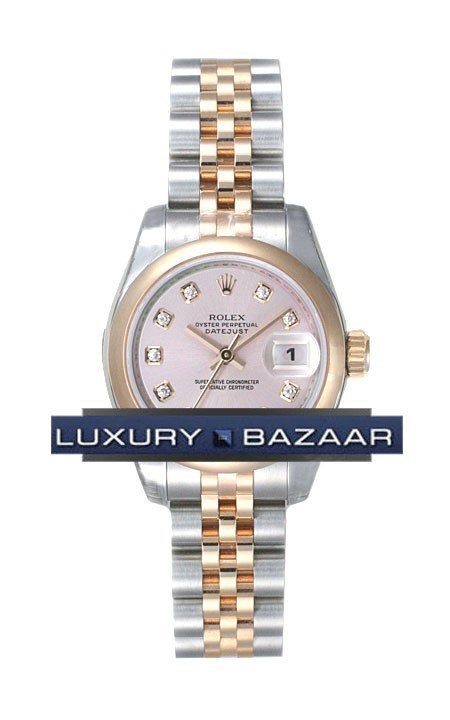 Oyster Perpetual Lady-Datejust 26 Domed Bezel 179161 pdj