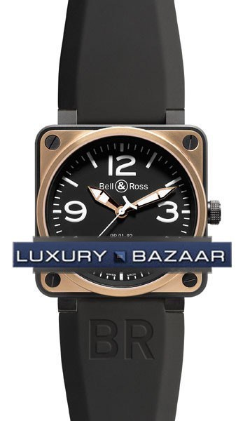 BR01-92 Black Rose Gold