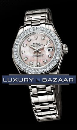 Lady-Datejust Pearlmaster 80309 Bril
