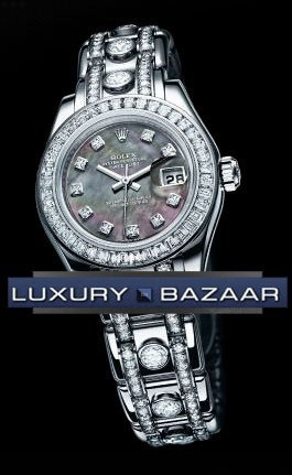 Lady-Datejust Pearlmaster 80309