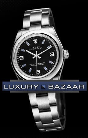 Perpetual 31mm (SS-Domed Bezel / Black / SS)