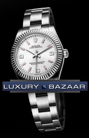 Oyster Perpetual 31mm Fluted Bezel 177234 spio
