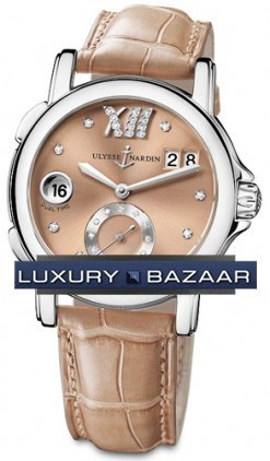 Dual Time Ladies Small Seconds 37mm 243-22/30-09
