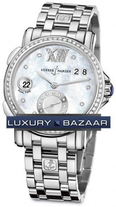 Dual Time Ladies Small Seconds 37mm 243-22B-7/391