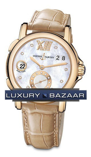 Dual Time Ladies Small Seconds 37mm 246-22/391