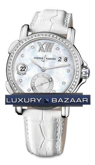 Dual Time Ladies Small Seconds 37mm 243-22B/391