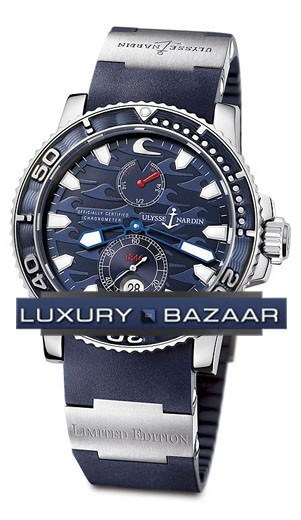 Blue Surf Chronometer 42.7mm 263-36LE-3