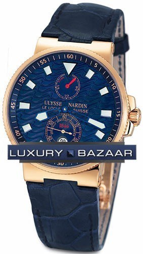 Marine Blue Wave Chronometer 41mm 266-68LE
