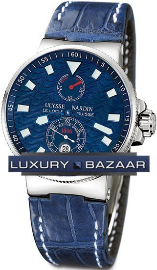 Marine Blue Wave Chronometer 41mm 263-68LE