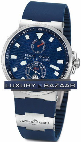 Marine Blue Wave Chronometer 41mm 263-68LE-3
