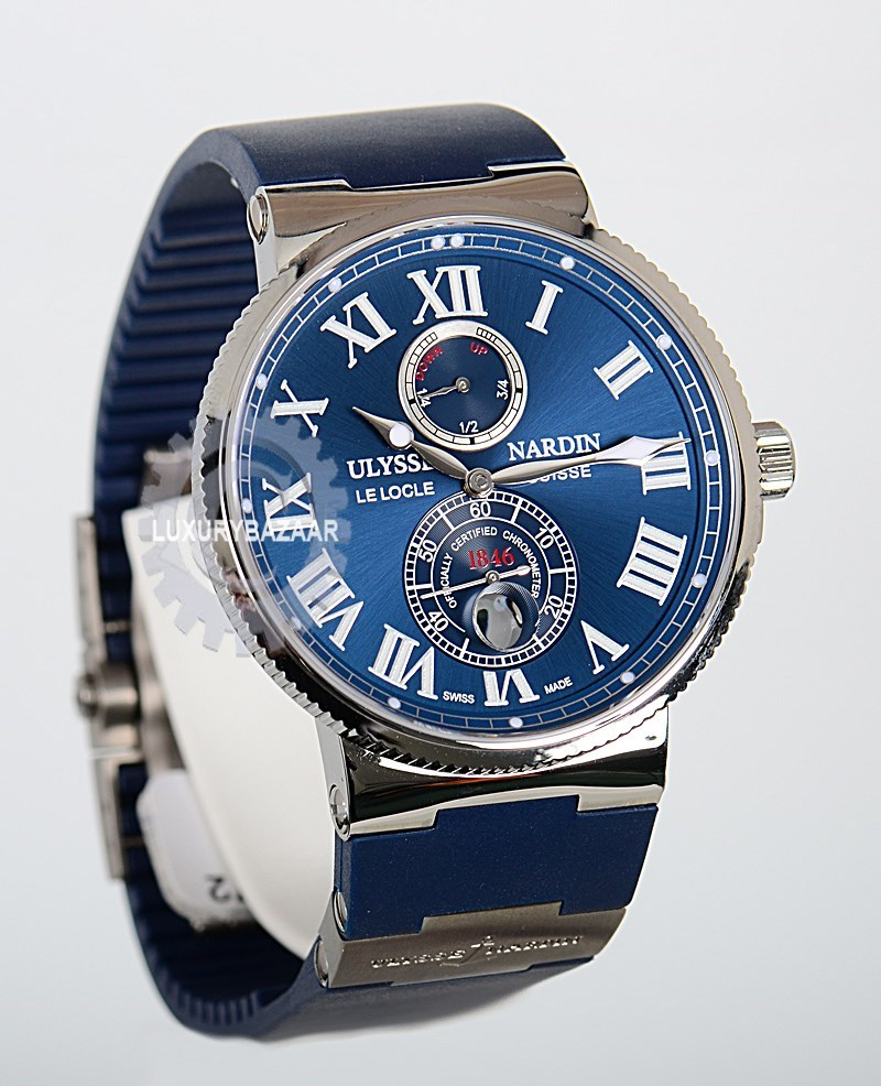 нее часы ulysse nardin maxi marine chronometer цена новым