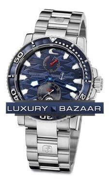 Blue Surf Chronometer 42.7mm 263-36LE-7M