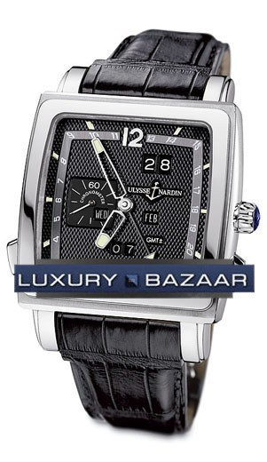 Quadrato Dual Time Perpetual 42x42mm 320-90/62