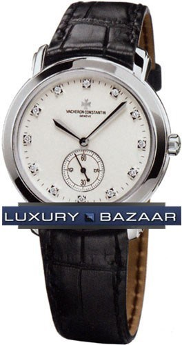 Malte Grande Classique (18kt WG / White / Leather)