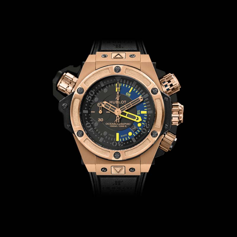 King Power Oceanographic 1000 King Gold 48mm 732.OX.1180.RX