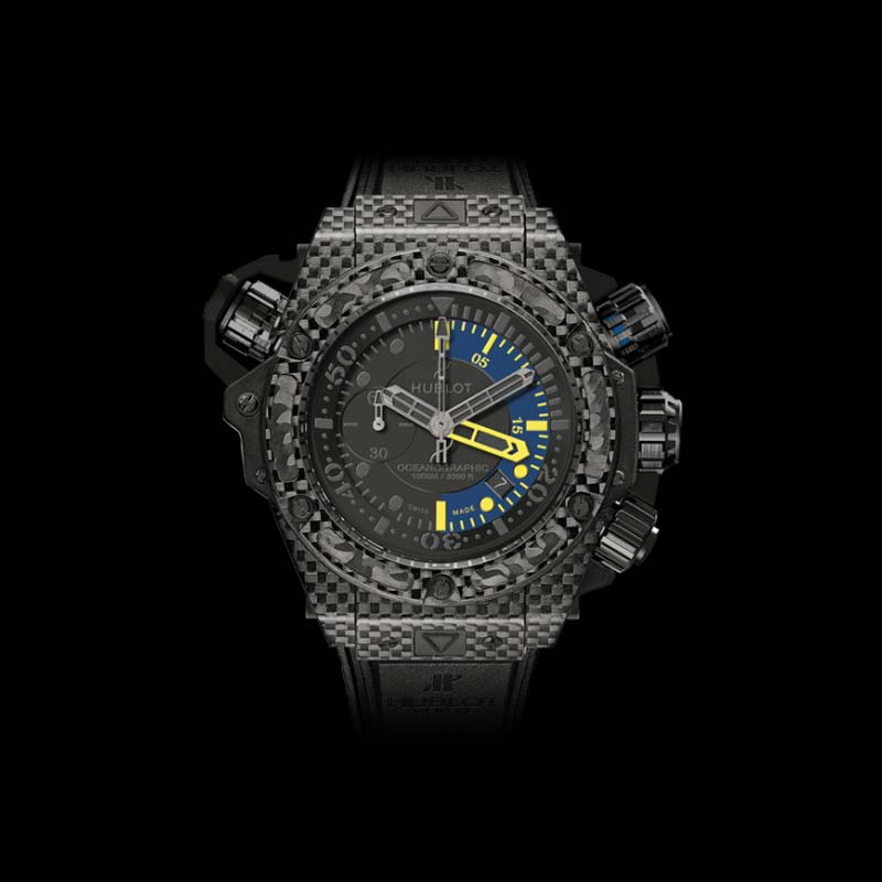 King Power Oceanographic 1000 Carbon 48mm 732.QX.1140.RX