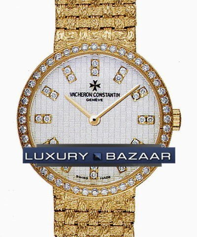 Patrimony Ladies (YG / Diamonds / YG)