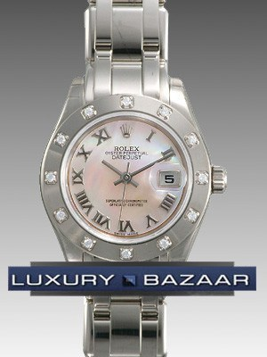 Lady Datejust Pearlmaster 80319 mr