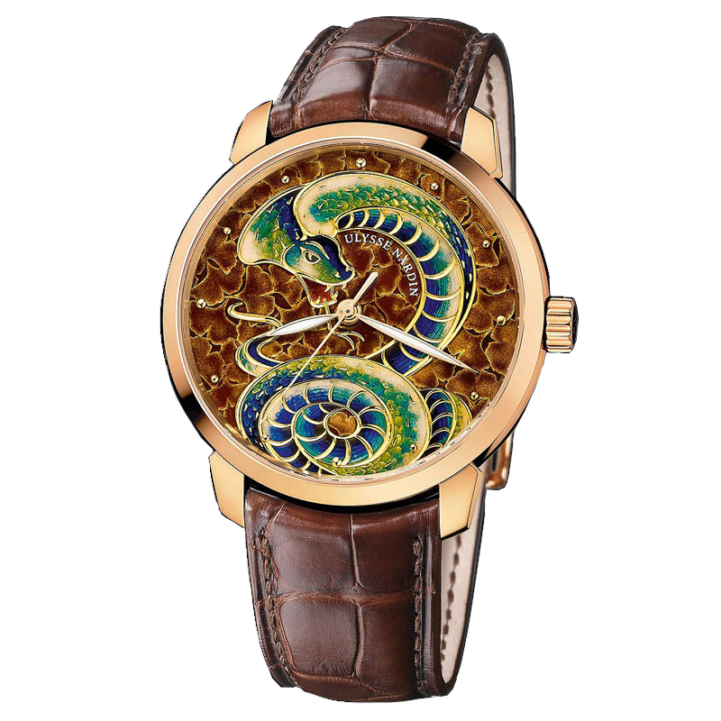 Classico Snake Cloisonné 40mm 8156-111-2/SNAKE