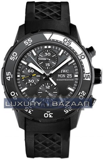 Aquatimer Chrono-Automatic Edition Galapagos Islands  (SS/Black/Rubber)