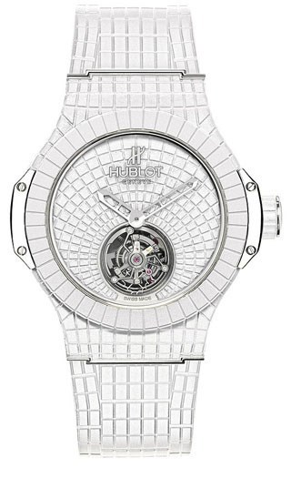 Big Bang Gummy Bang White Tourbillion 305.RW.2910.RW