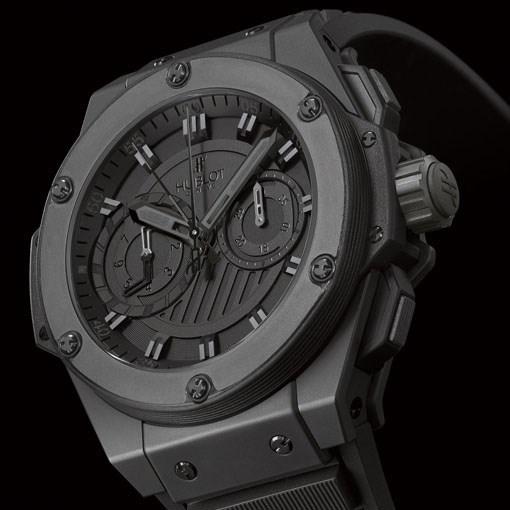 King Power Foudroyante All Black 715.CI.1110.RX