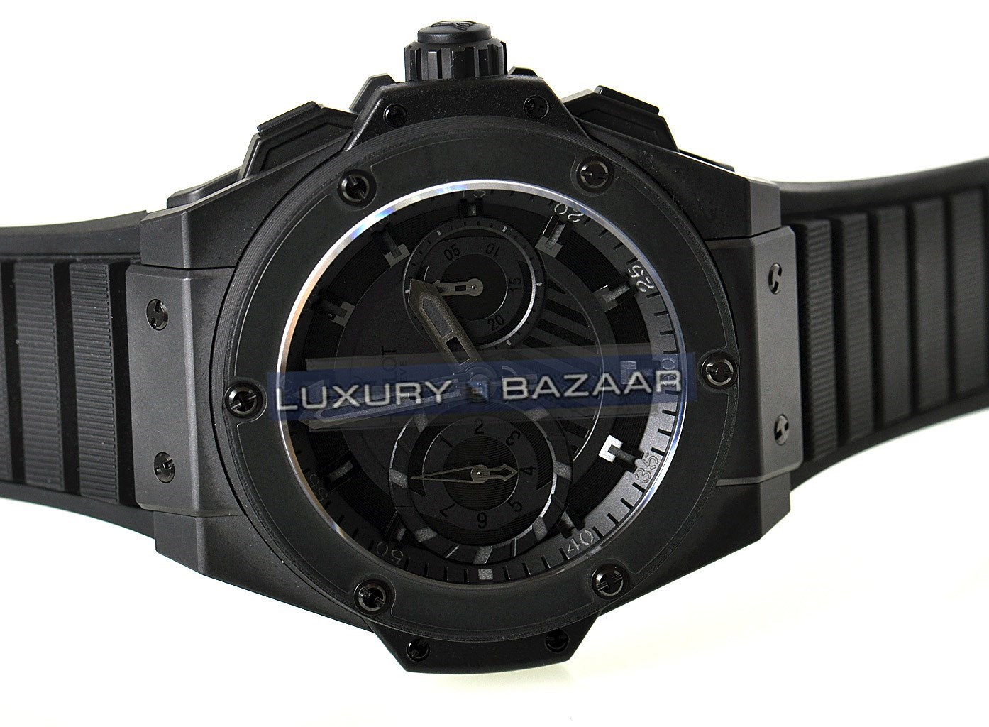Hublot King Power Black Price