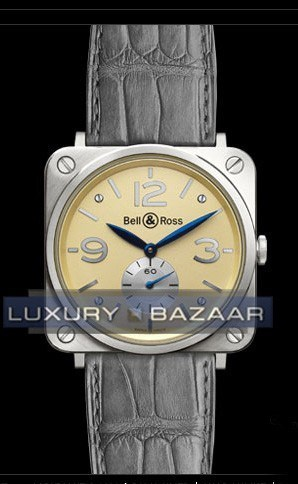 BR-S Gold BR-S White Gold Ivory dial