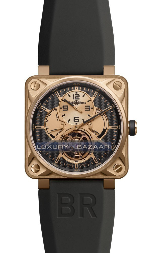 Instruments BR 01 Tourbillon Rose Gold