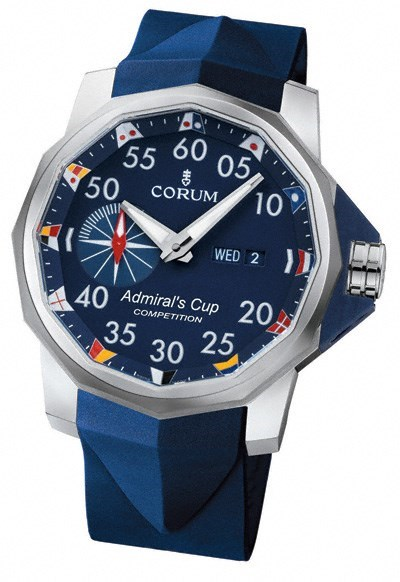 Admirals Cup Competition 48 (Ti / Blue  / Strap)