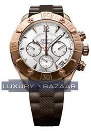 Defy Classic chronograph Lady 18.0506.4000/01.R650