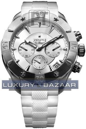 Defy Classic chronograph Lady 03.0506.4000/01.R666