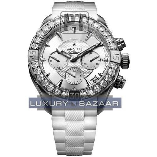 Defy Classic chronograph Lady 16.0506.4000/01.R666