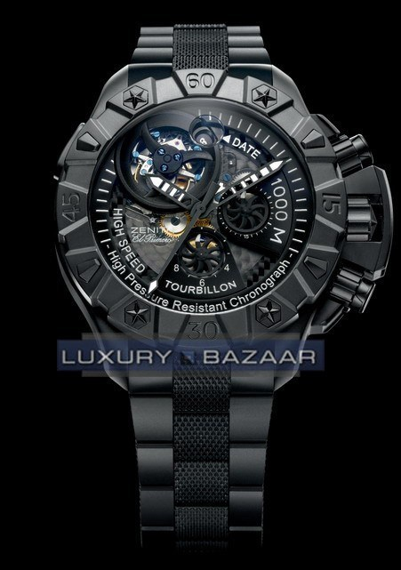Defy Xtreme Tourbillon Black 96.0527.4035/27.M529
